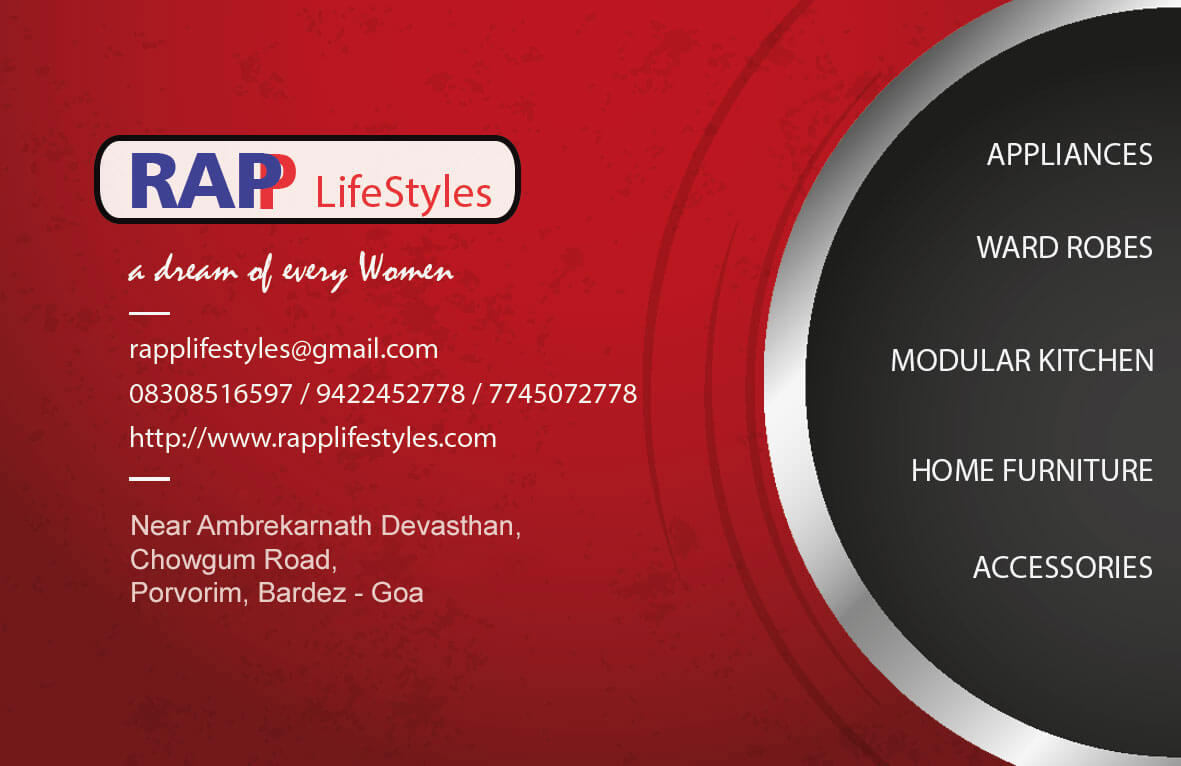 RAPP Lifestyles - Modular Kitchen Dealer in Porvorim, North Goa, Goa